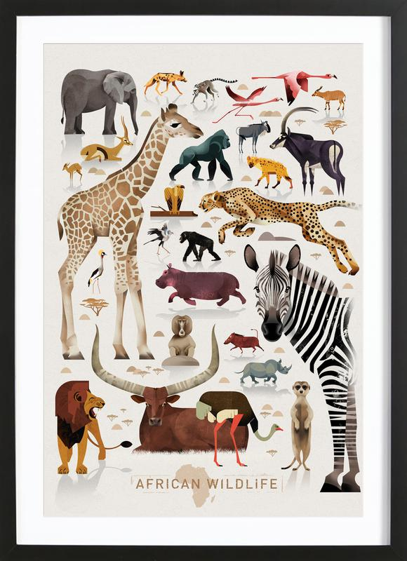 Afrika Framed Print