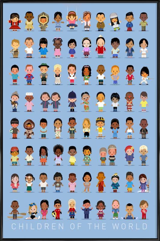 Children Of the World ingelijste poster