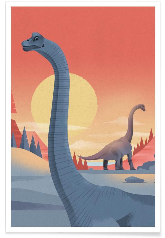 Brachiosaurus -Poster