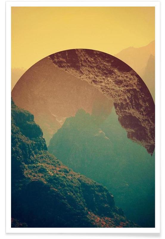 Abstrakte Landschaften, Esfera -Poster