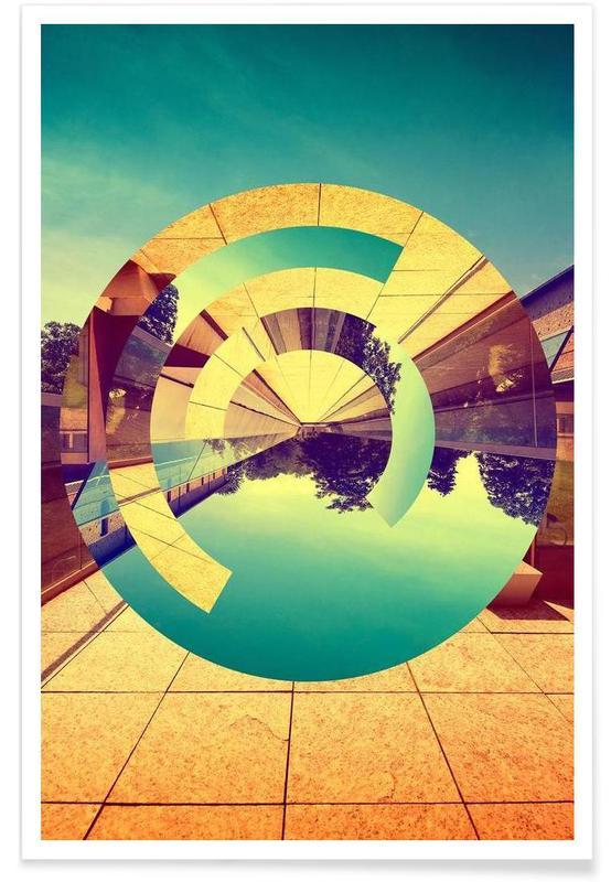 Architekturdetails, L'Infinito -Poster