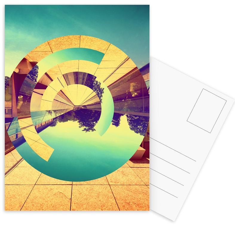 Architectonische details, L'Infinito ansichtkaartenset