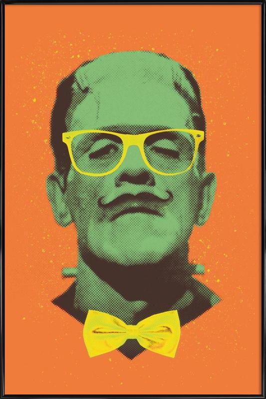 Mr Frank -Bild mit Kunststoffrahmen