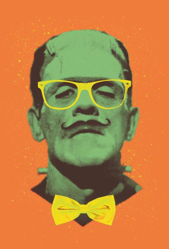 Mr Frank -Acrylglasbild