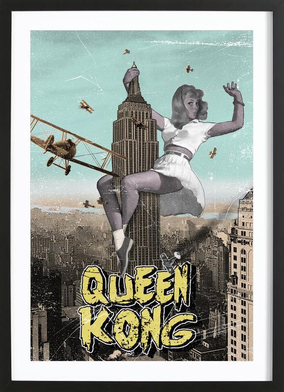 Queen Kong Framed Print