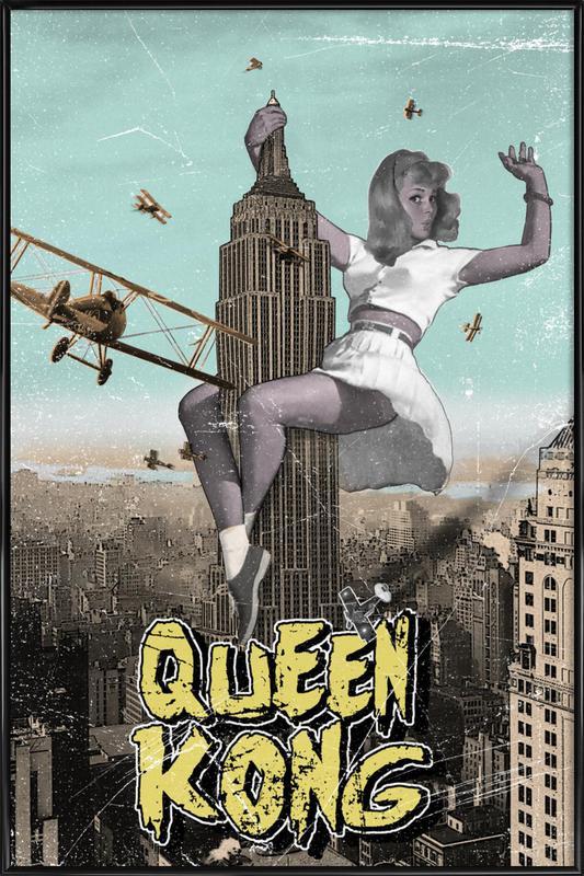 Queen Kong Framed Poster