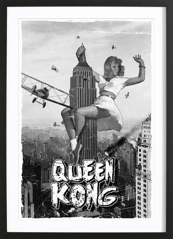 Queen Kong 2 Framed Print