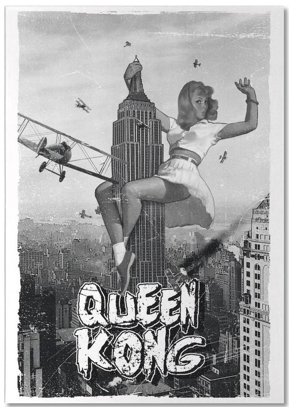 Noir & blanc, Films, Queen Kong 2 bloc-notes