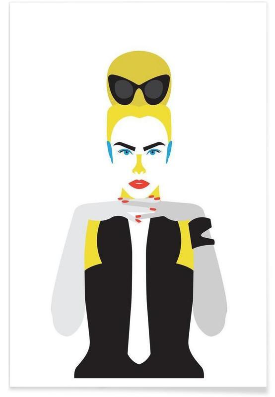 Cara Blond -Poster