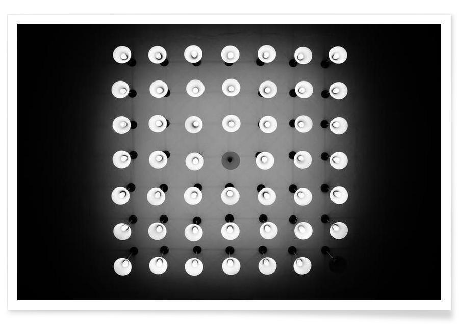 Noir & blanc, Spots affiche