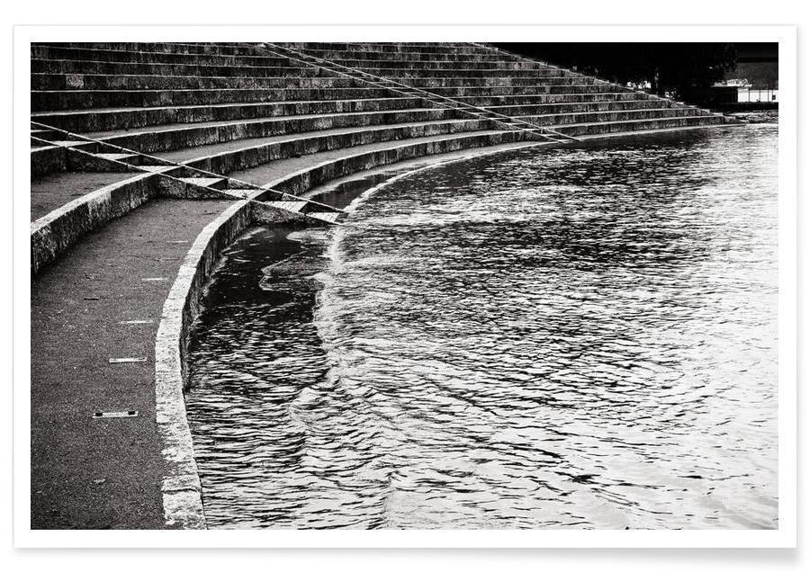Détails architecturaux, Noir & blanc, The Floods Part I affiche