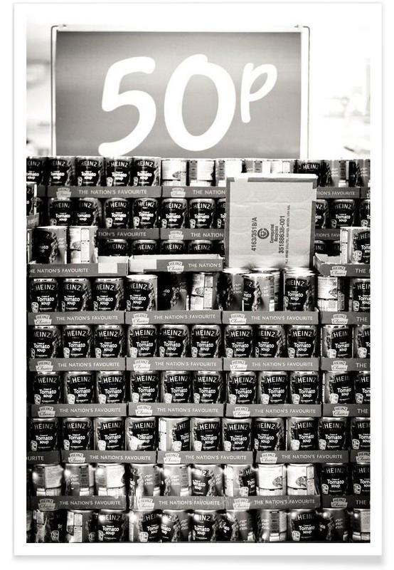 , Heinz Beans 50P! -Poster
