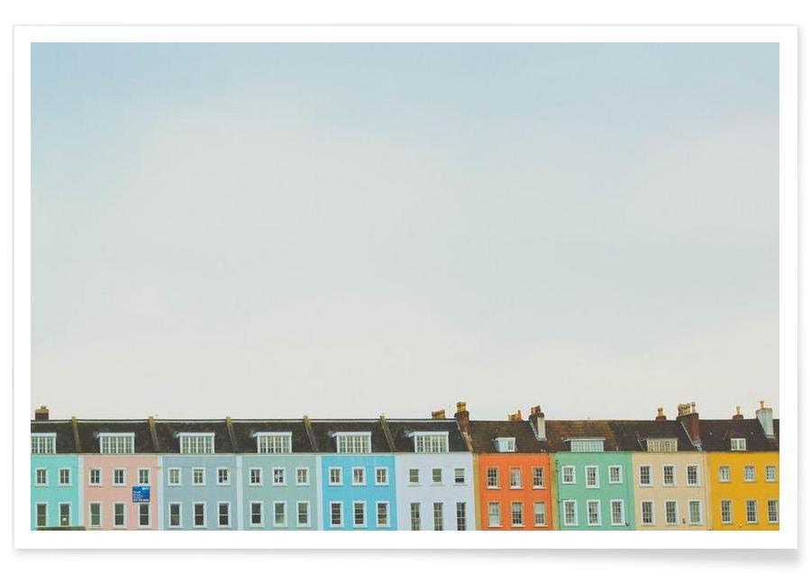 Architekturdetails, Bristol - Redcliffe -Poster