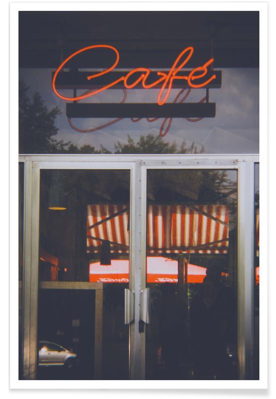 Architekturdetails, Berlin Café -Poster