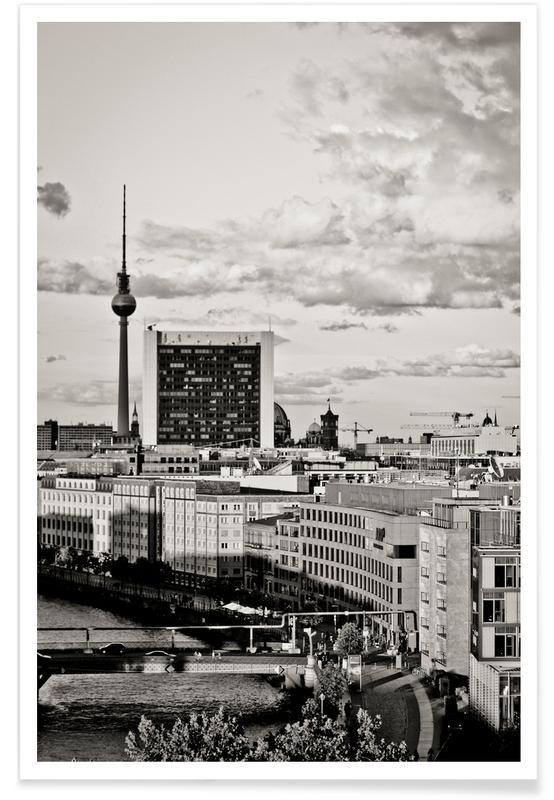 Berlin, Schwarz & Weiß, Berlin Sunset -Poster