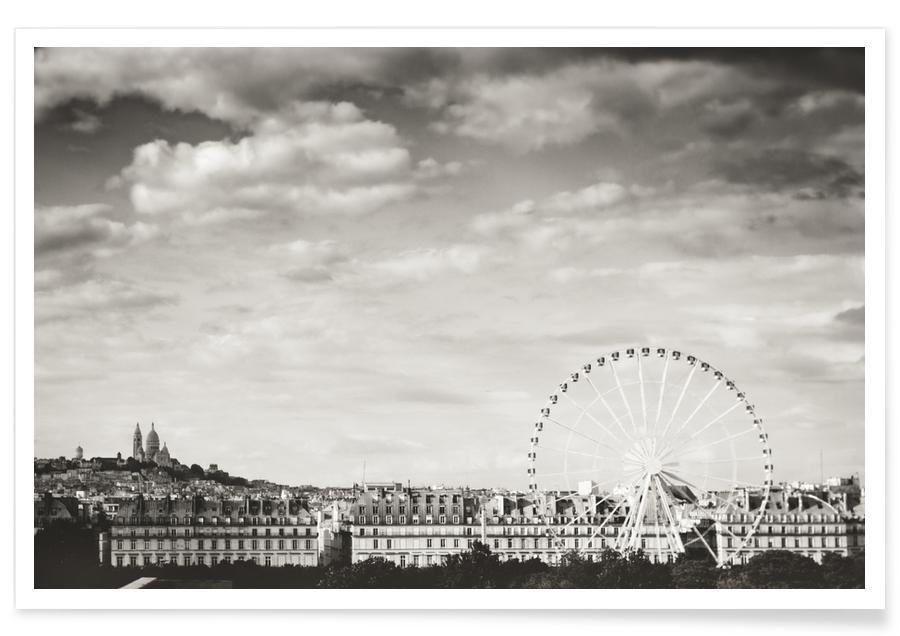 Paris Skyline affiche