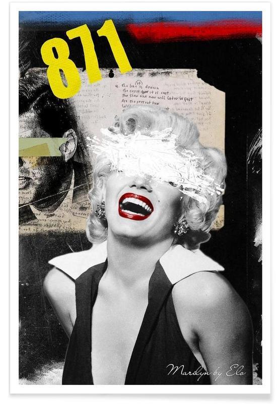 Rétro, Marilyn Monroe, Public Figures: Marilyn affiche