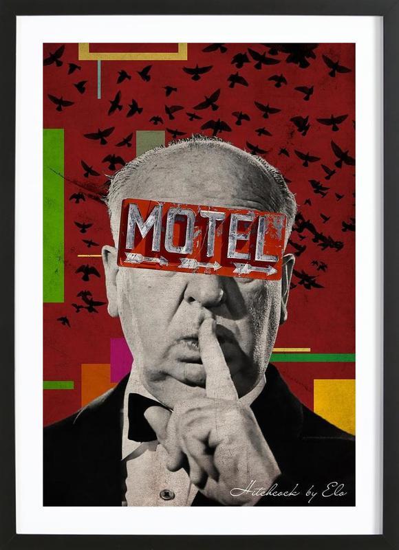 Public Figures: Hitchcock Framed Print