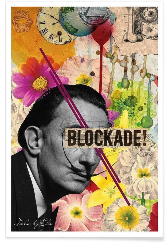 Rétro, Salvador Dali, Public Figures: Dali affiche