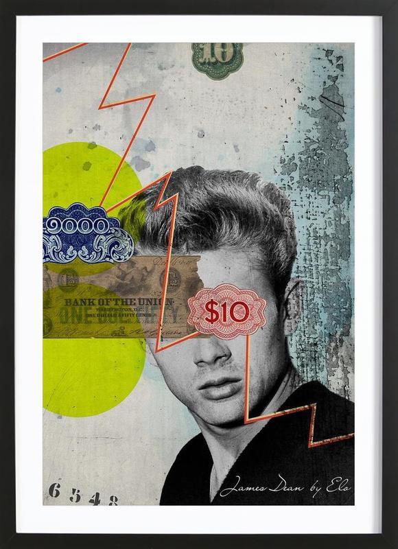 Public Figures: James Dean Framed Print