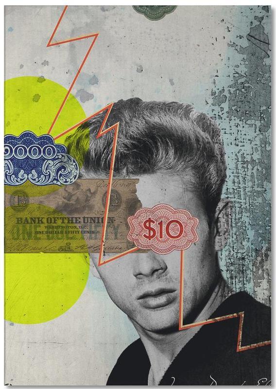 James Dean, Rétro, Public Figures: James Dean bloc-notes