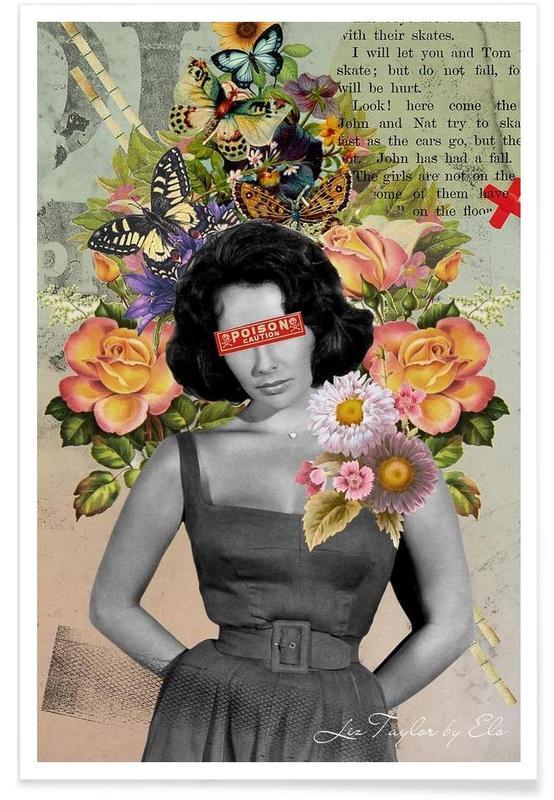 Public Figures: Liz Taylor Poster