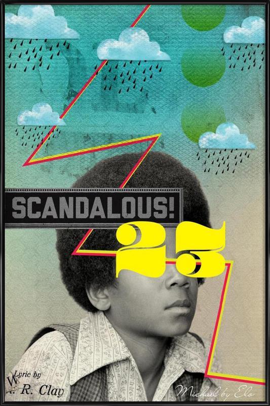 Public Figures:  Michael Framed Poster