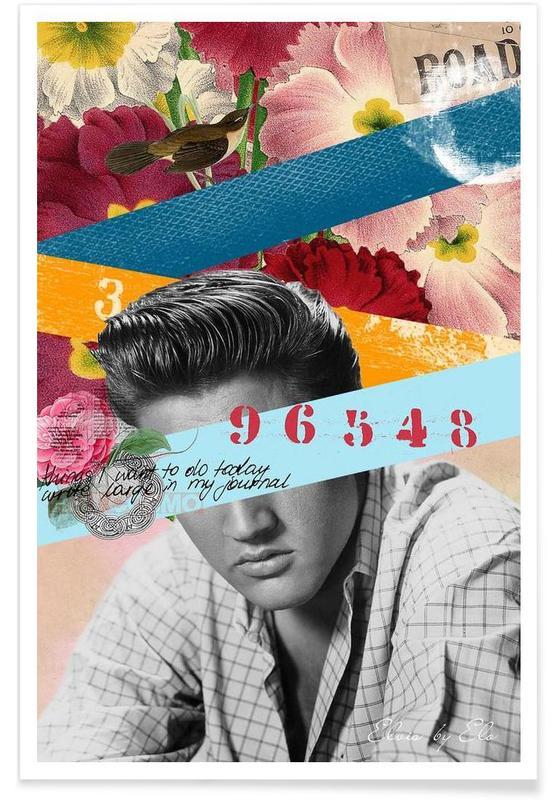 Public Figures: Elvis poster