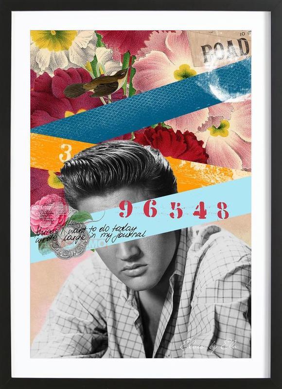 Public Figures: Elvis Framed Print
