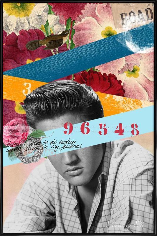 Public Figures: Elvis Framed Poster