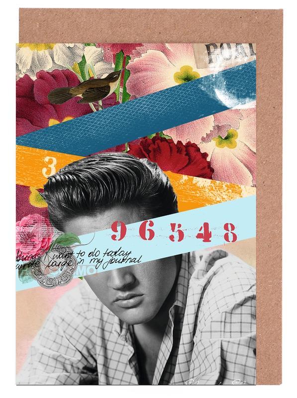 Public Figures: Elvis -Grußkarten-Set