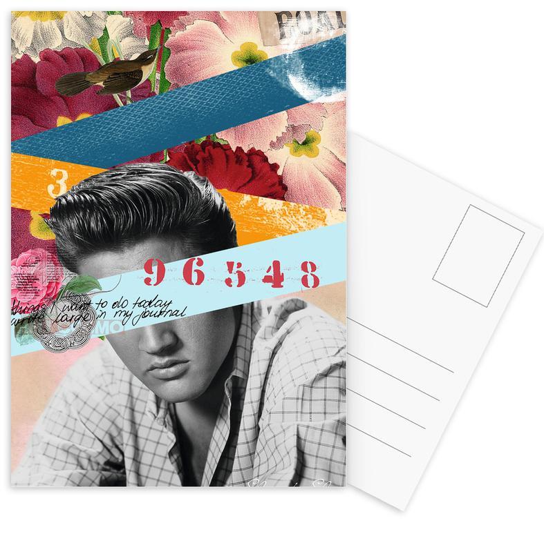 Public Figures: Elvis Postcard Set