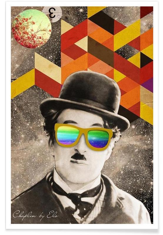 Rétro, Public Figures: Chaplin affiche