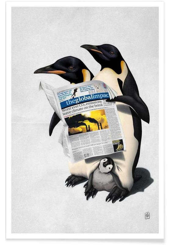 Pingouins, Read All Over affiche
