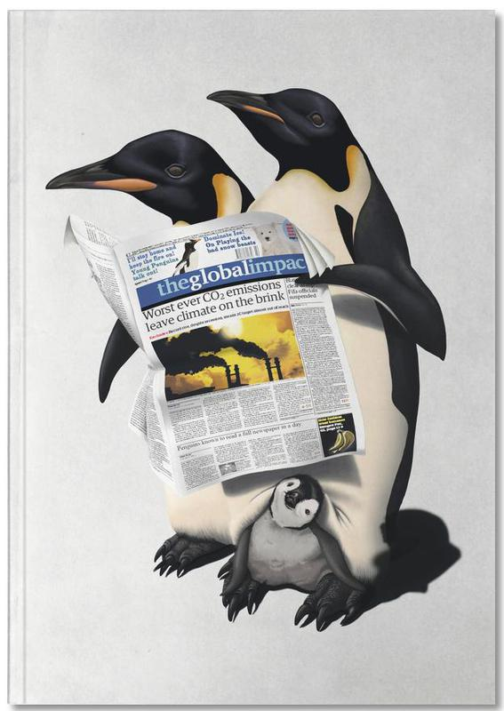 Penguins, Read All Over Notebook