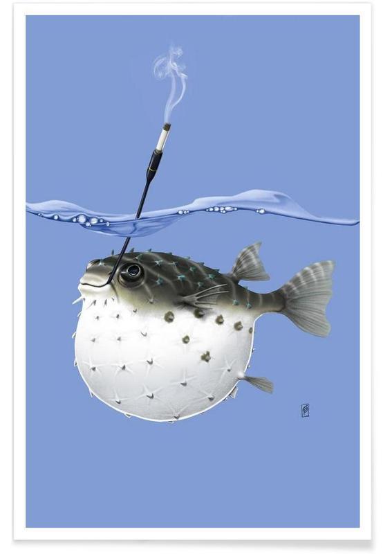 Fisk, Take it outside (colored) Plakat