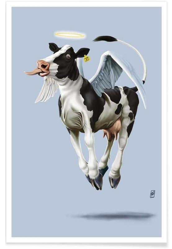 Vaches, Holy Cow (Colour) affiche