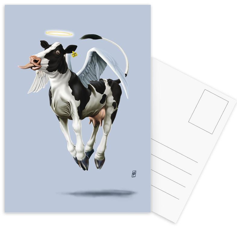 Kühe, Holy Cow (Colour) -Postkartenset