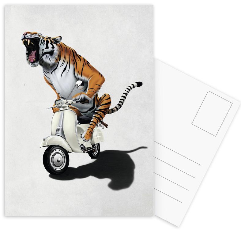 Rooooaaar! Postcard Set