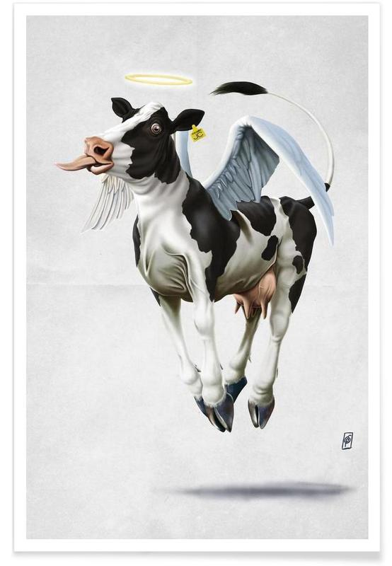 Holy Cow (wordless) -Poster