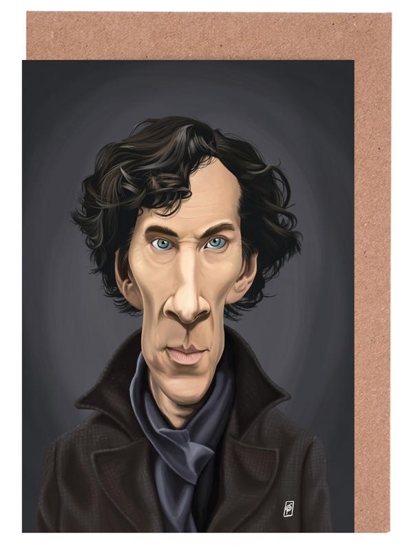 Séries TV, Benedict Cumberbatch cartes de vœux
