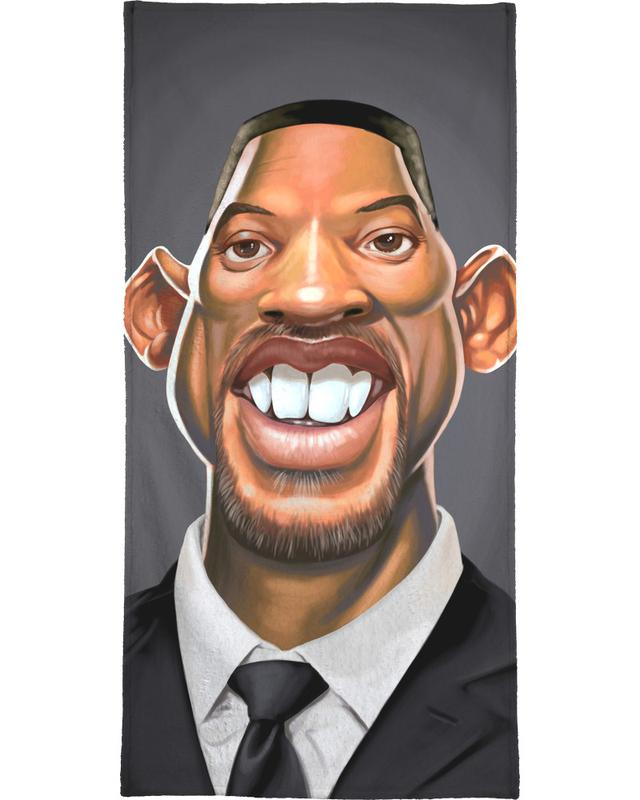 Will Smith -Handtuch
