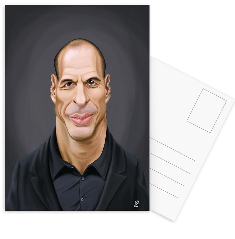 Personnages politiques, Yanis Varoufakis cartes postales