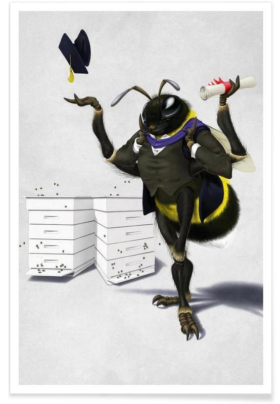 Bier, To bee or not to bee Plakat
