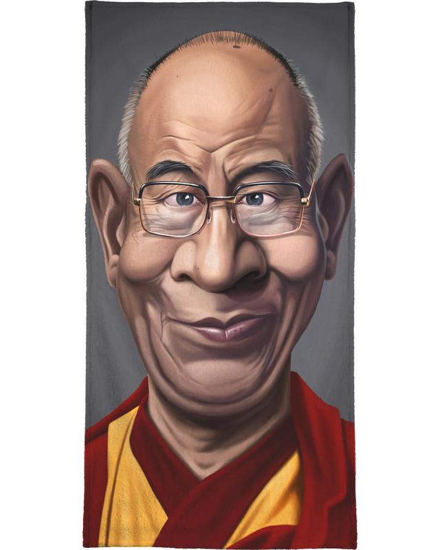Personnages politiques, Dalai Lama serviette de bain