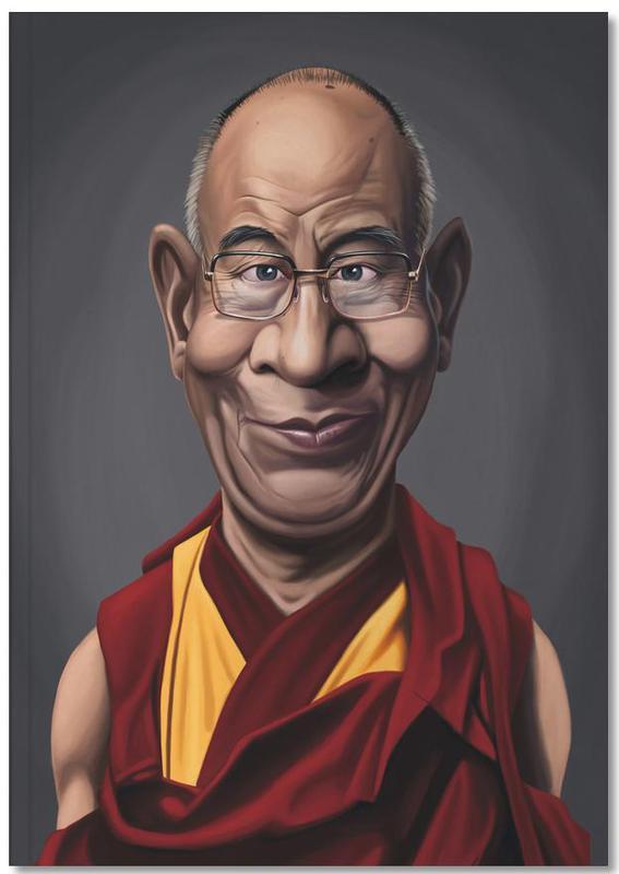 Politische Figuren, Dalai Lama Notebook