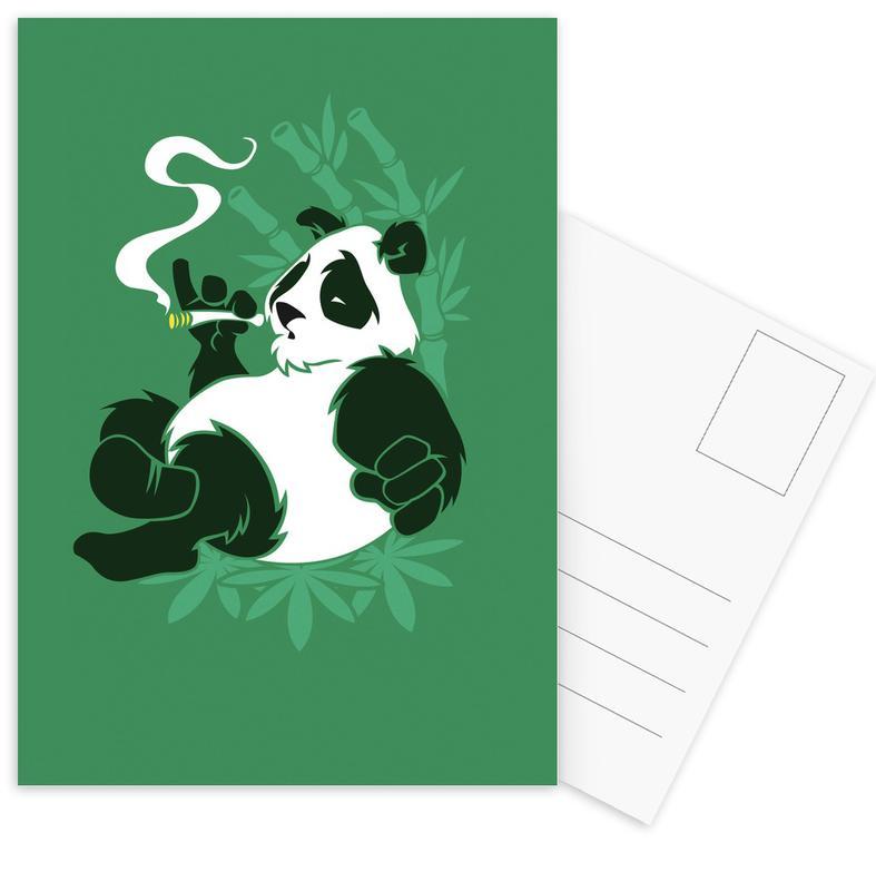Pandas, Bamboozled -Postkartenset