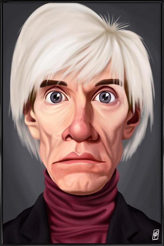 Andy Warhol affiche encadrée