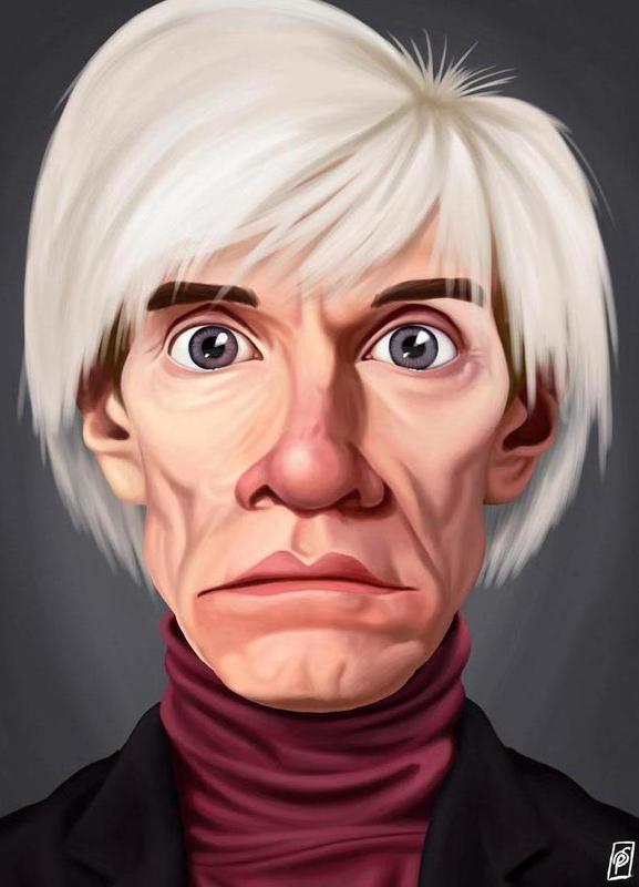 Andy Warhol -Leinwandbild
