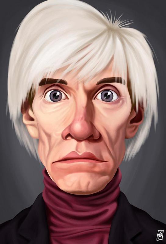 Andy Warhol alu dibond